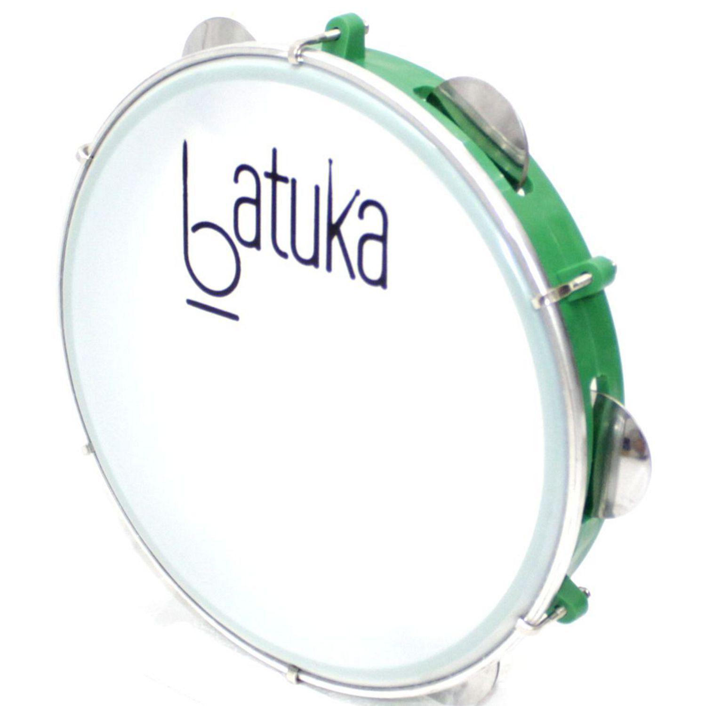 Pandeiro Batuka Luen 10 Pele Leitosa ARO ABS 60045S Verde