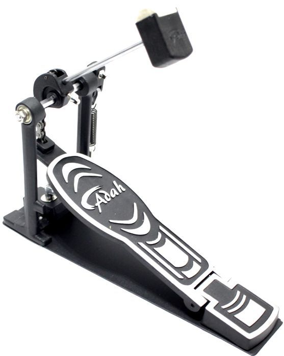 Pedal de Bumbo de Bateria Single ADAH Base Inteiriça PB-00213