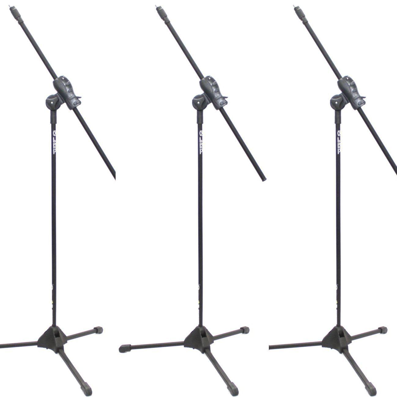 Pedestal de Microfone IBOX para 1 MIC SMLIGHT - 03 Unidades