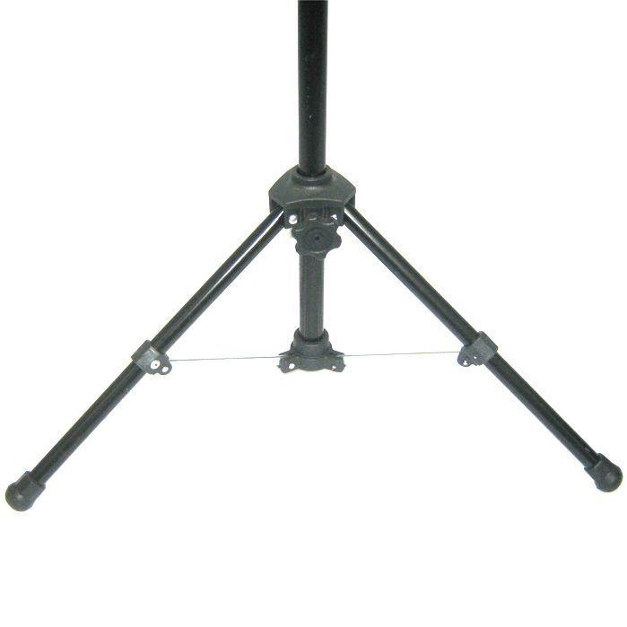 Pedestal de Microfone Visão para 1 MIC com Cachimbo - VPE2BK