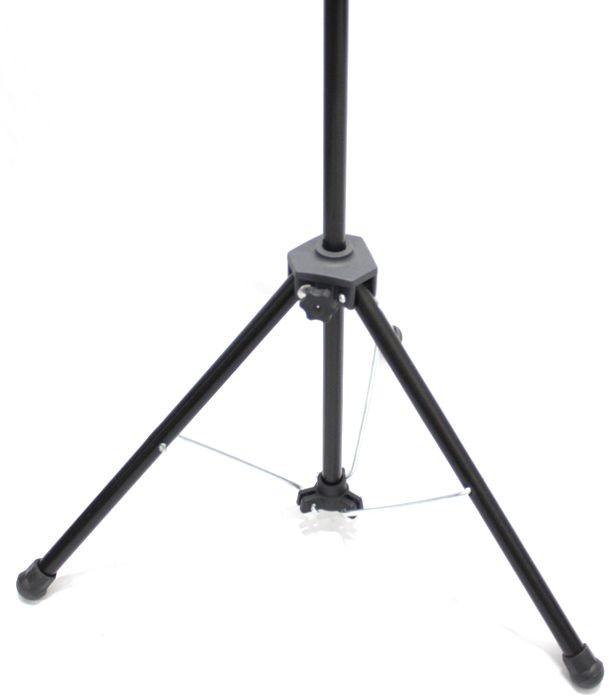 Pedestal de Microfone Visão para 1 MIC VPM-B BK