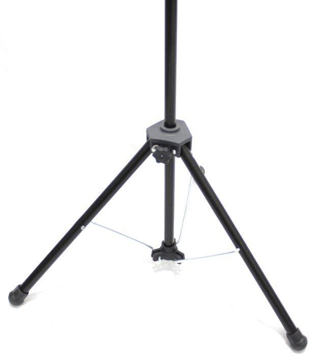 Pedestal de Microfone Visão para 1 MIC VPM-B BK - Pacote com 3 Unidades