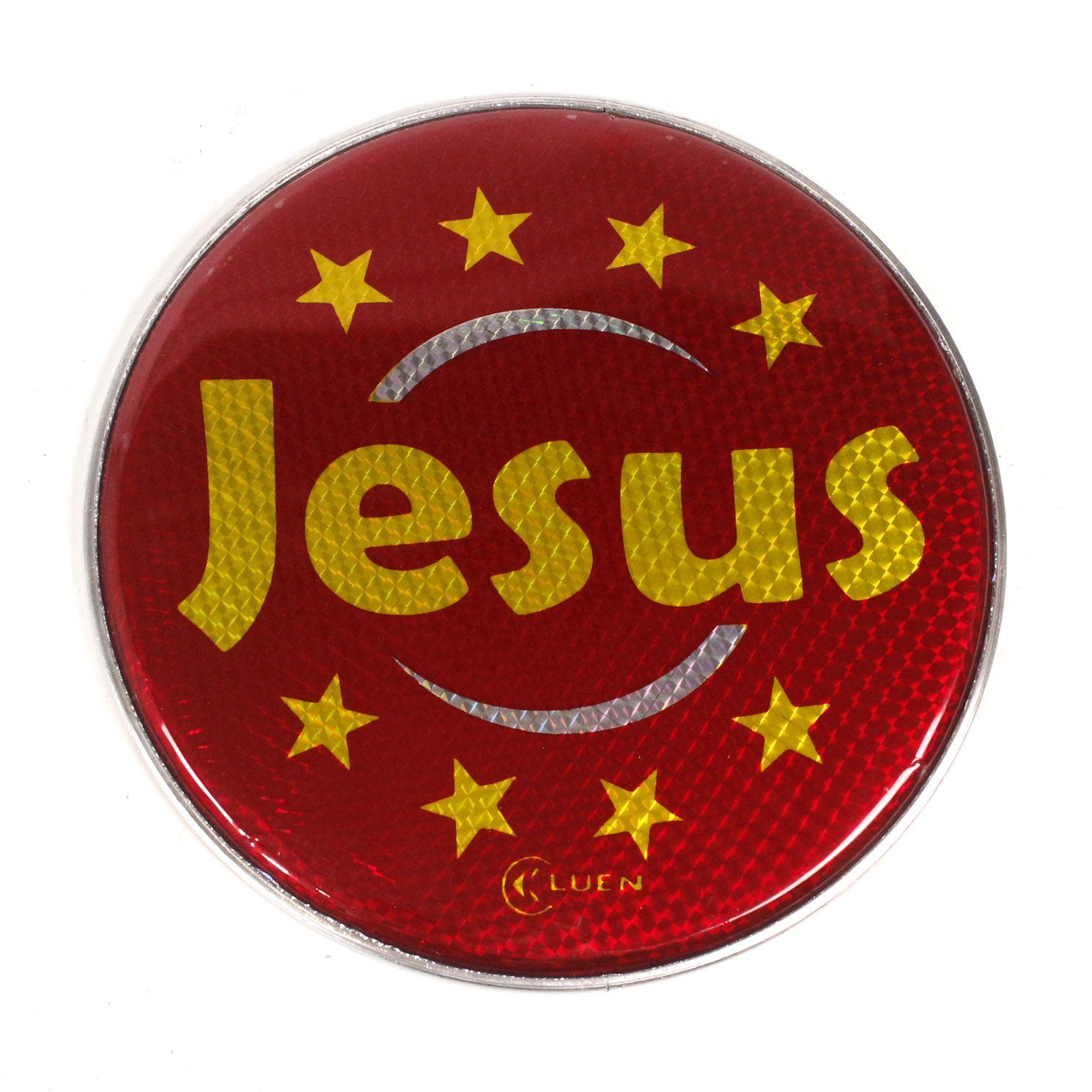 Pele Holografica Jesus Vermelho de 10 Polegadas da Luen para Pandeiro 10