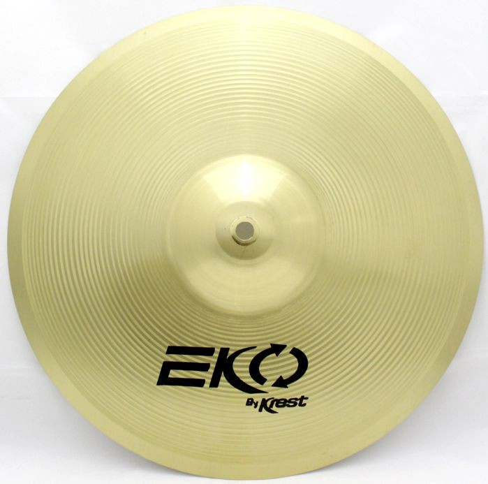 Prato Medium CRASH - Ataque - 13 EKO BY KREST CYMBALS Latão