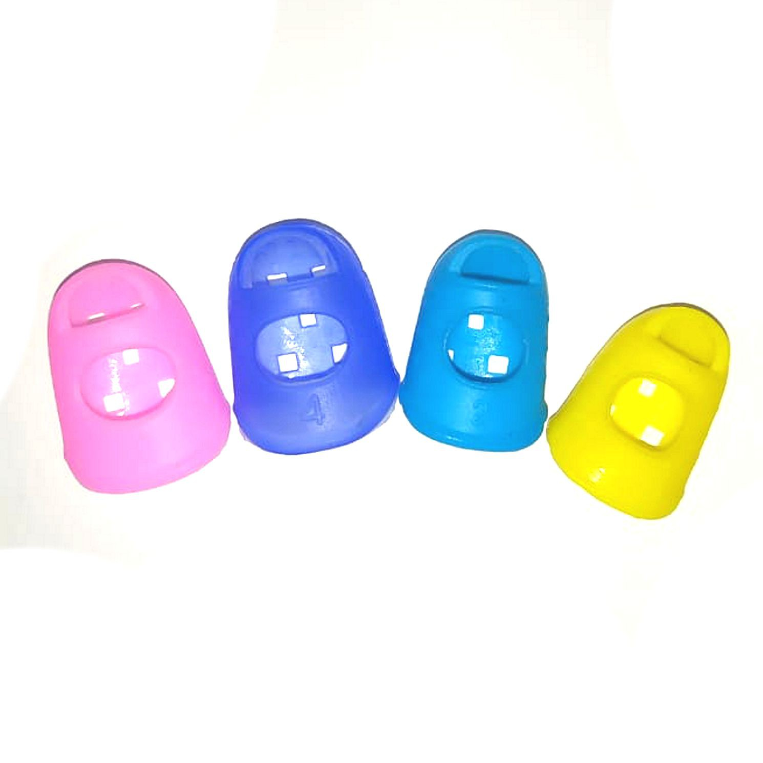 Protetor de Dedo para Violão Dedeira Dedal 4 Unidades