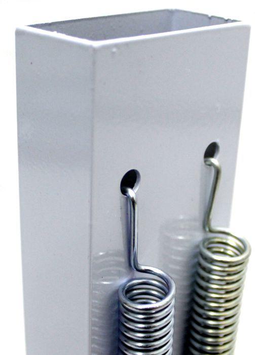 Reco Reco 2 Molas POP da Luen em Aluminio Branco - 19041BR