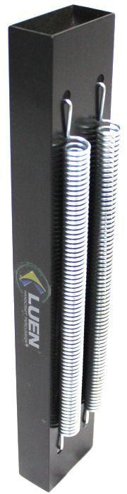 Reco Reco 2 Molas POP da Luen em Aluminio Preto BK - 19041PT