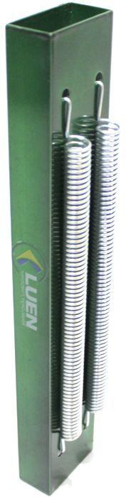 Reco Reco 2 Molas POP da Luen em Aluminio Verde - 19041VD