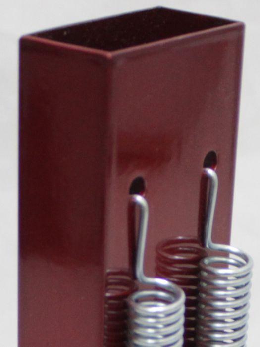 Reco Reco 2 Molas POP da Luen em Aluminio Vermelho - 19041VM