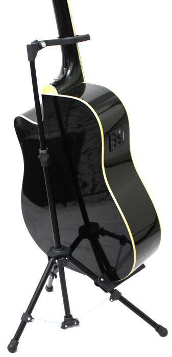 Suporte de Chão para Instrumento com Apoio NO Braço Violão Guitarra Baixo e Outros - (apenas o Suporte) - Visão - VPIC-01