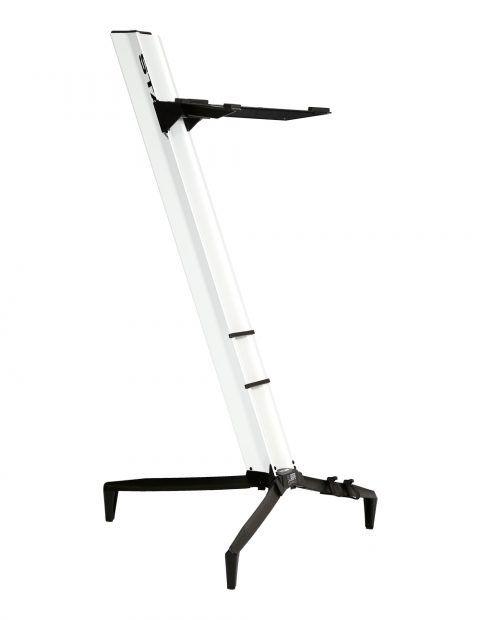 Suporte STAY Torre Aluminio para 1 Teclado 110CM de Altura com BAG 1100/1 Branco Torre