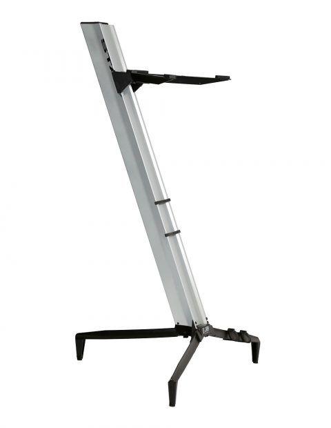 Suporte STAY Torre Aluminio para 1 Teclado 110CM de Altura com BAG 1100/1 Prata Torre