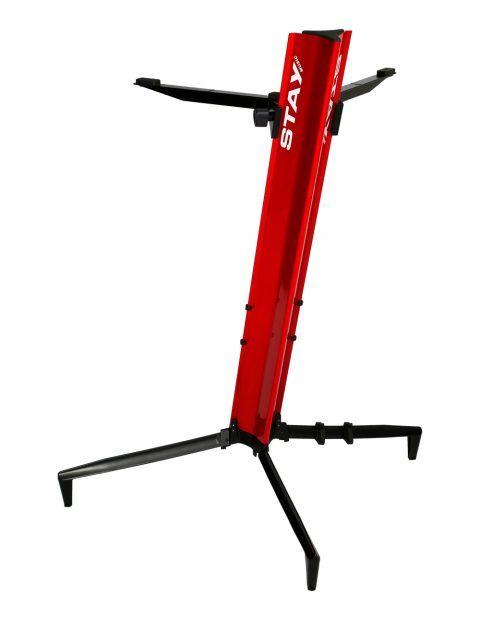 Suporte STAY Torre Aluminio para 1 Teclado 110CM de Altura com BAG 1100/1 Vermelho Torre