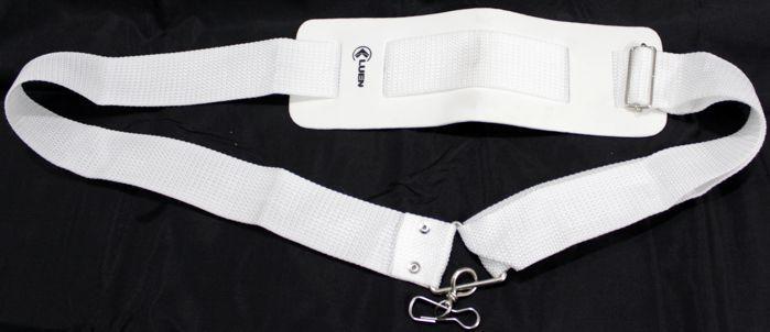 Talabarte Simples 1 Gancho NA COR Branca da Luen - 16001B