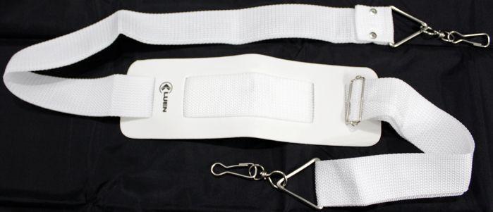 Talabarte Simples 2 Ganchos NA COR Branca da Luen - 16002B