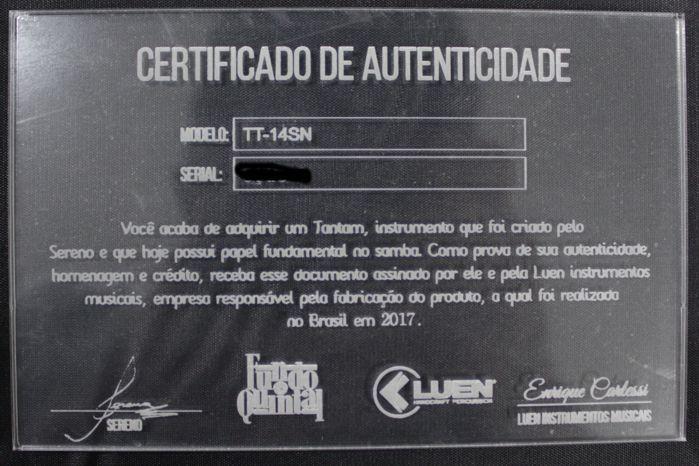 """Tantam em Madeira Sereno 70 X 14"""" com Pele Animal e Ferragem Cobreado - Luen - Fundo de Quintal"""