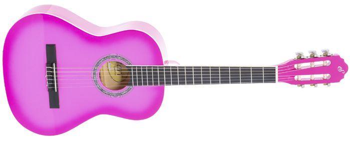 Violão Giannini Infantil 3/4 Cordas de NYLOM - Rosa PINK - N6-PK