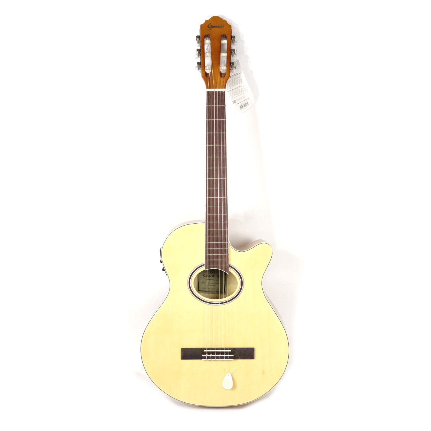 Violão Giannini NYLON Mini Jumbo Cutaway GNF-1D Natural