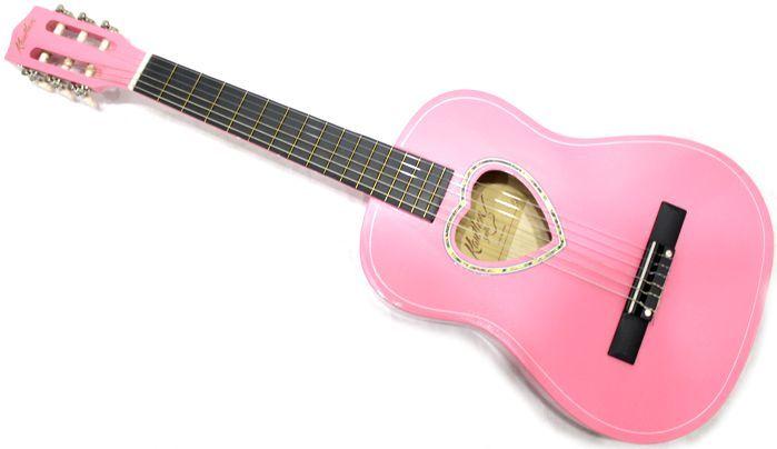Violão Infantil 1/2 COR Rosa Kauthon Cordas de NYLOM - 941 SPK Austin