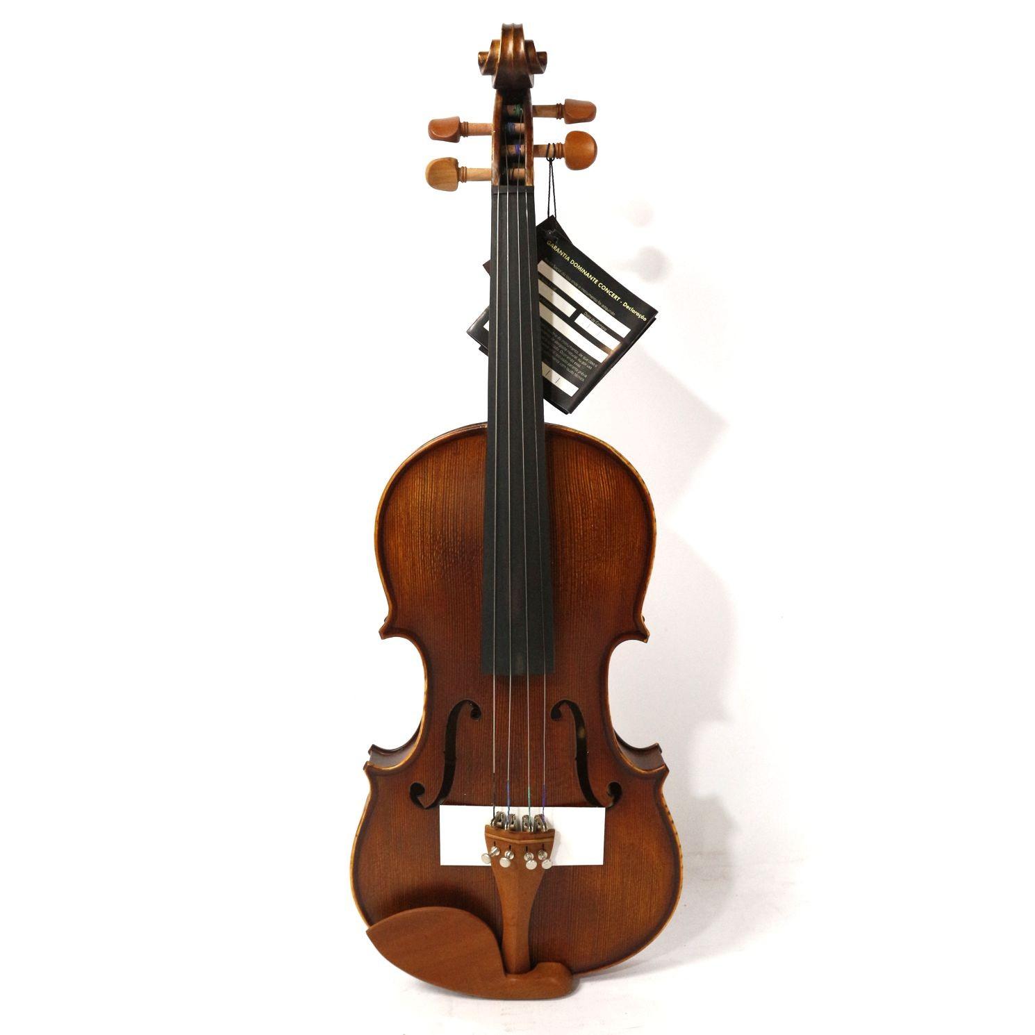 Violino 4/4 Dominante Concert Maciço com Estojo ARCO e Breu