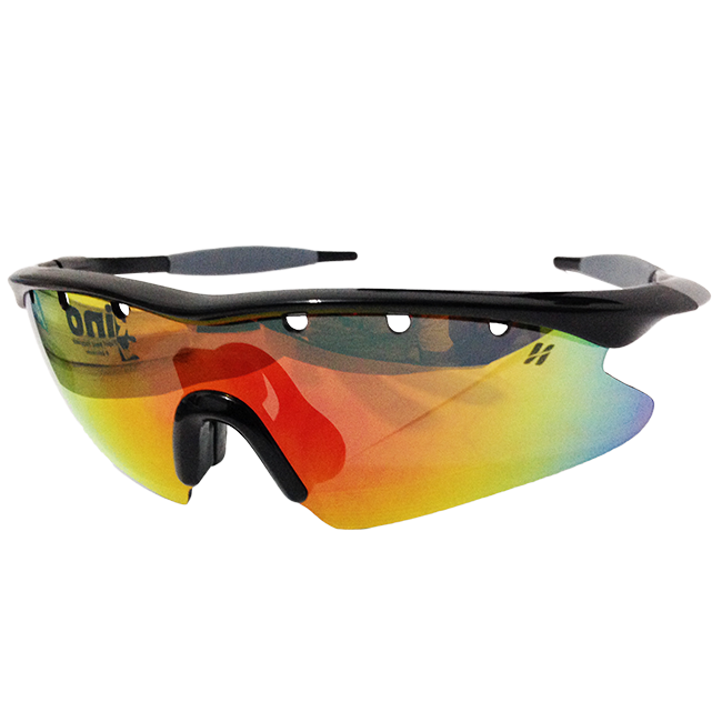 Óculos Ciclismo 3 Lentes + Case Preto Fusion High One - NETH Bikes ... 382b1a637a