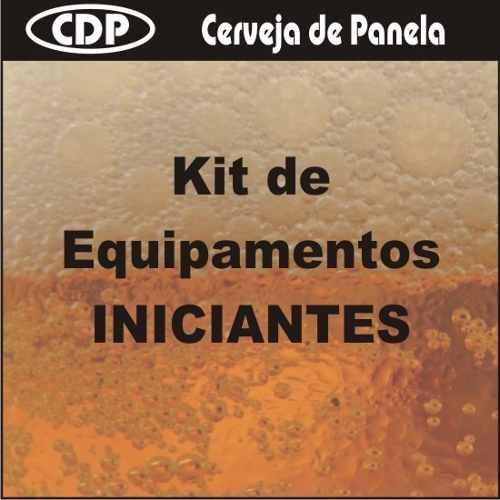 Kit De Equipamentos Iniciantes - Cerveja Artesanal Caseira  - CERVEJA DE PANELA