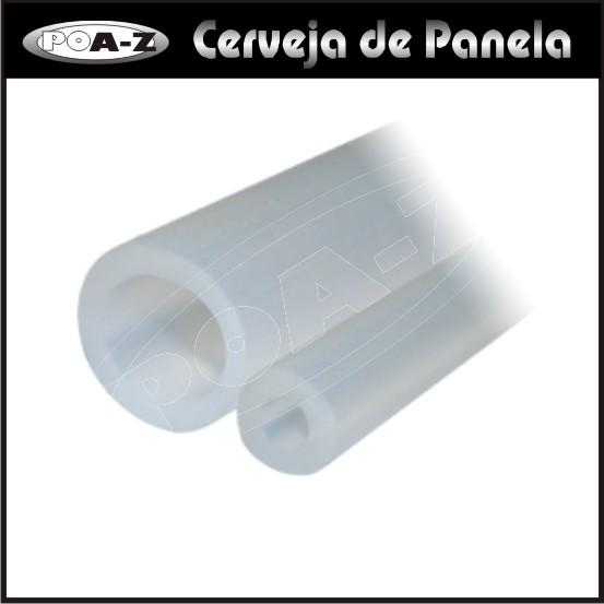 Mangueira de Silicone 9,5x15,5 - 1 m  - CERVEJA DE PANELA