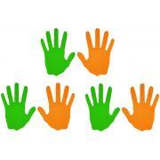 Mãos em EVA - 3 Pares
