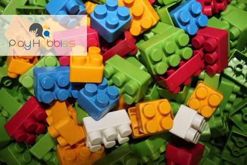 Blocos De Montar 40 Peças Blocos De Montar Melhores Brinquedos