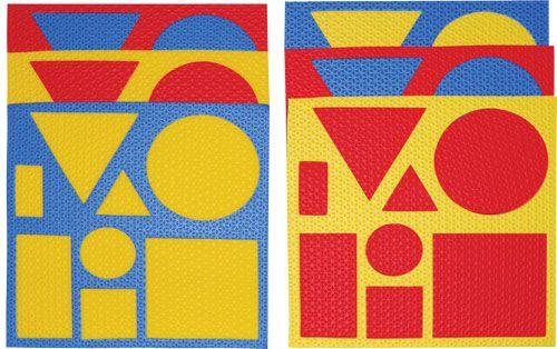 Blocos Lógicos com  6 Placas