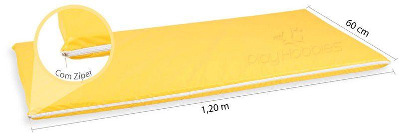 Colchonete em Napa com Espuma 120 X 60 X 4 cm com Zíper