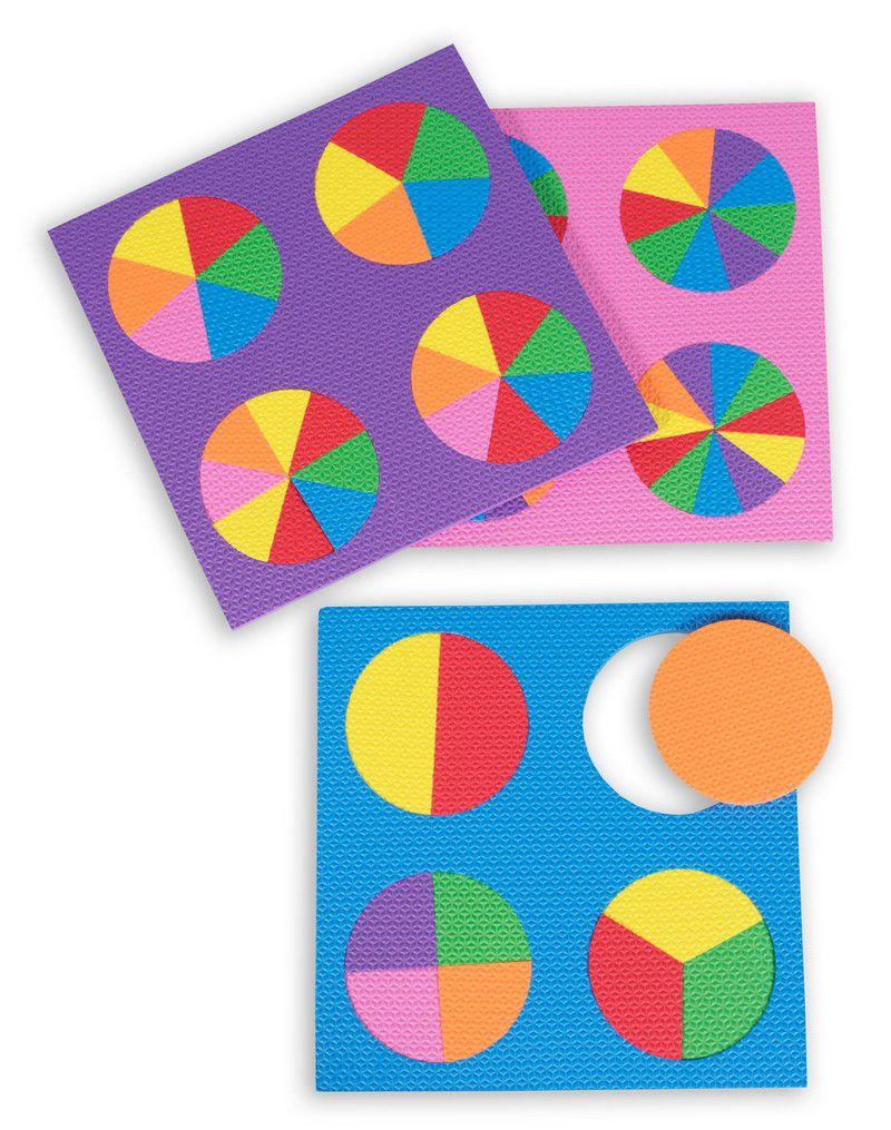 Discos de Frações com 3 Placas