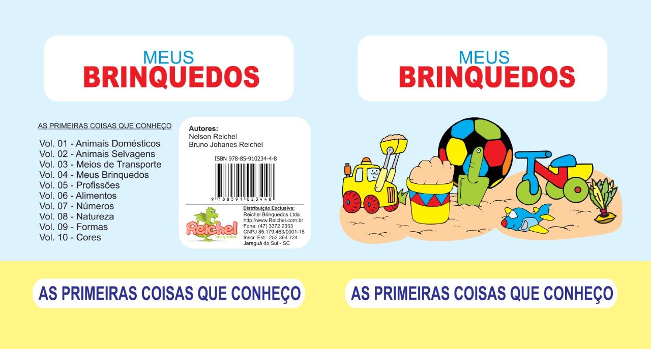 Livro Primeiras Coisas Que Conheço Em Eva Meus Brinquedos