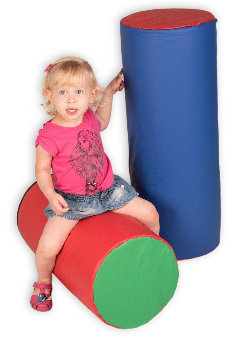 Rolo Sensorial Creche Escolas Fisioterapia 80 x 30 cm