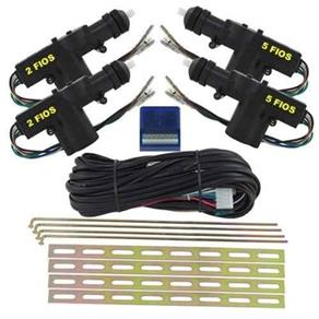 Trava Eletrica 4 Portas Universal Roadstar Kit Completo