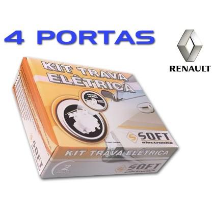 Trava Elétrica  Renault Sandero Logan Clio 4 Portas Soft
