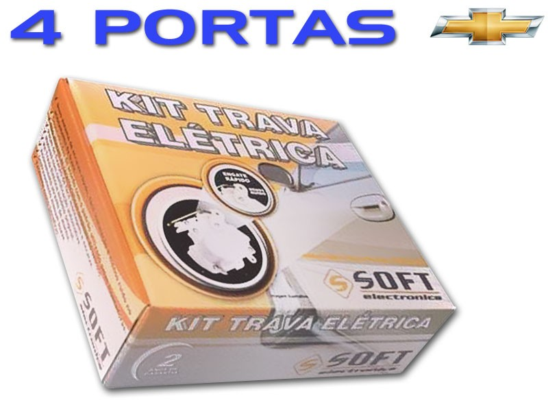 Trava Elétrica Soft Corsa Classic 4 Portas Mono