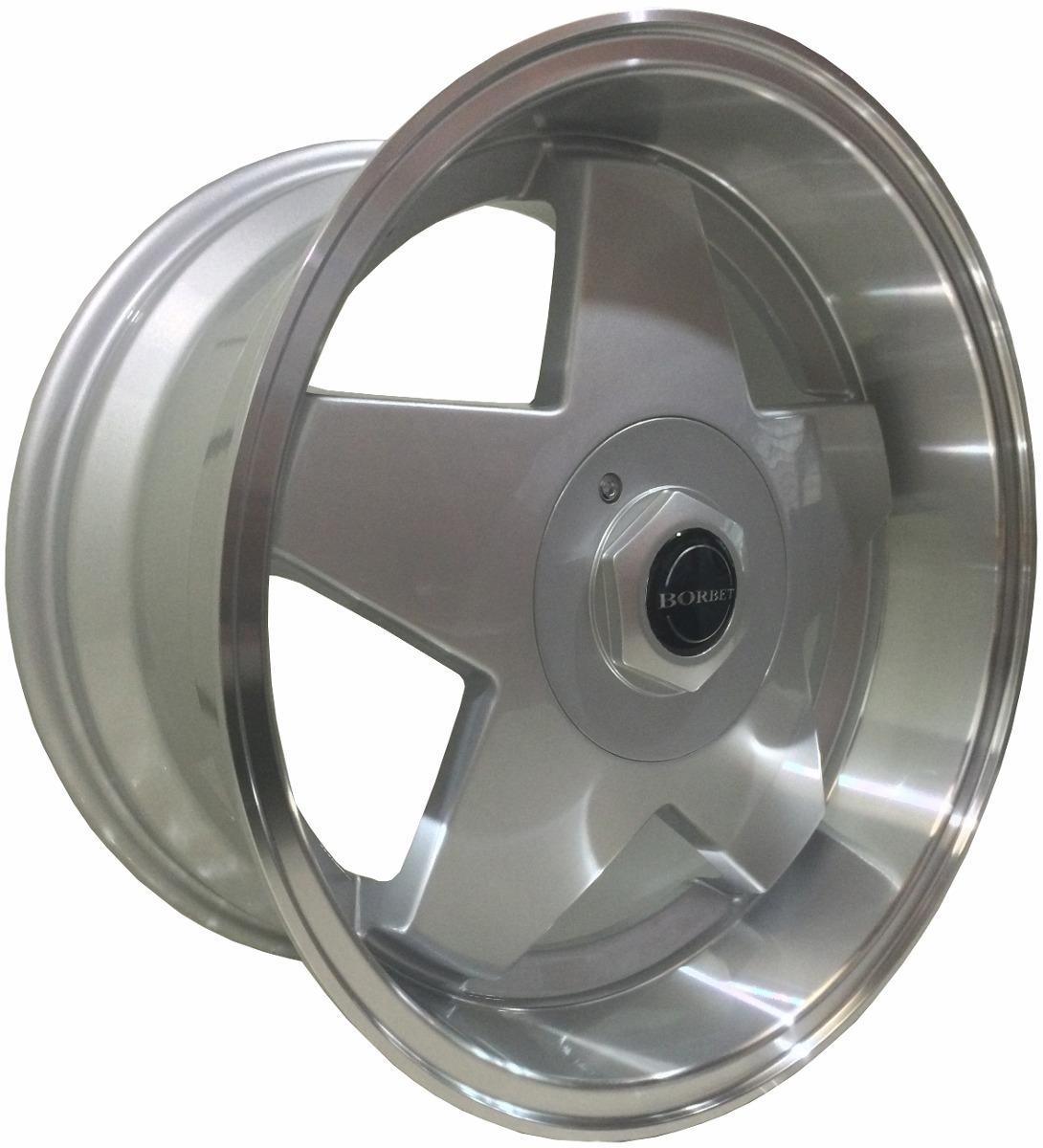Roda Borbet Maxima aro 17x7x2 e 2x8,50 4x100/4x108 Jogo