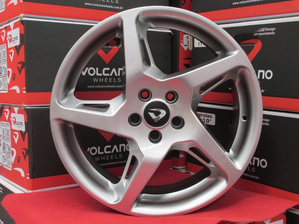 Roda Volcano Rocket Ferrari aro 17x7 4x100/108 jogo