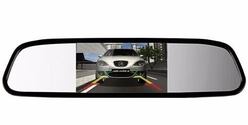 Espelho Retrovisor Digital Tela Lcd 4,3''
