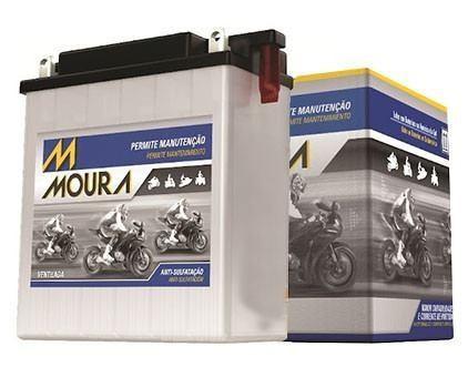 Bateria Moto Moura Mv5 Direito