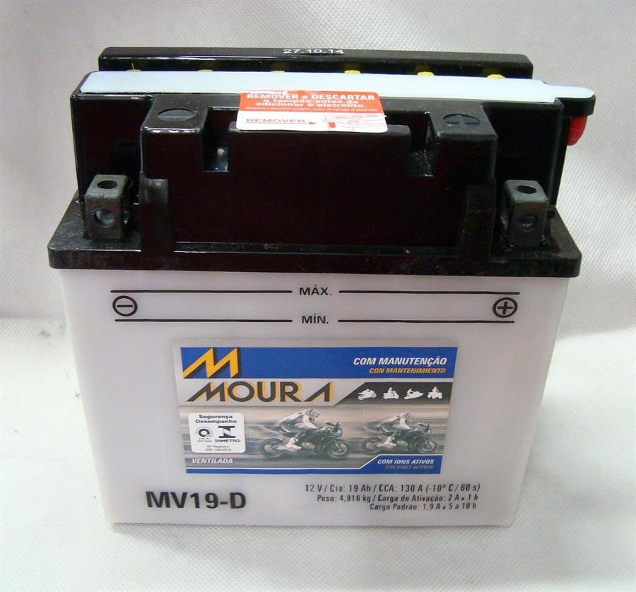 Bateria Moto Moura Mv19-d Atv Quadriciclo Kaw. Can-am Deere