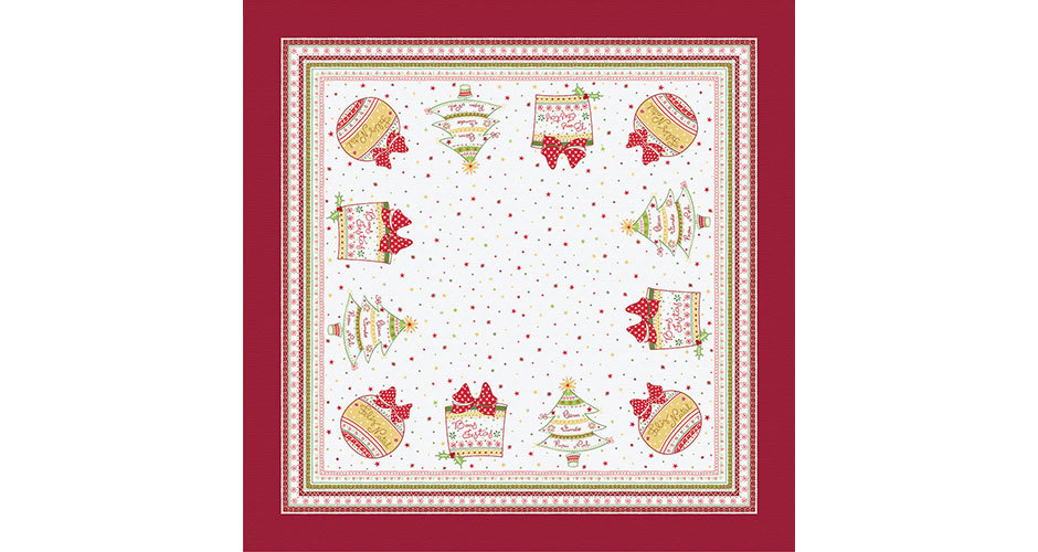 Toalha de Mesa de Natal 2 - Karsten
