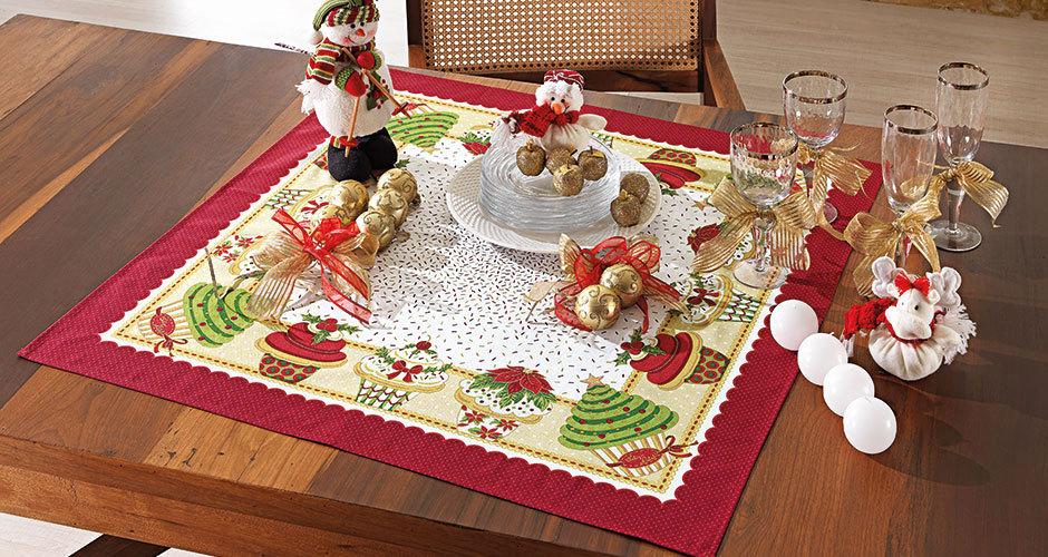 Toalha de Mesa de Natal 4 - Karsten