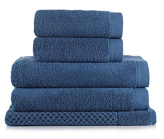 Jogo de toalha de banho 5 peças Dual Gigante Azul Buddemeyer