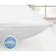 Protetor de Travesseiro Impermeável 50cm x 70cm Kacyumara