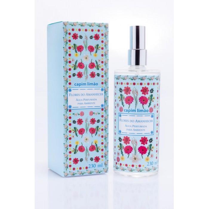 Água perfumada para ambiente Capim Limão - Flores do Amanhecer