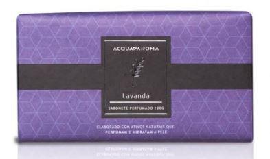 2 Sabonetes Perfumados em Barra 120g Lavanda Acqua Aroma