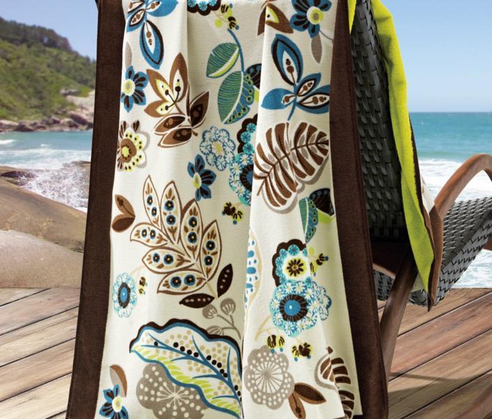 Toalha de Praia Costa Paradisco Trussardi