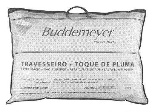 Travesseiro Toque de Pluma Buddemeyer